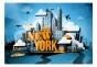 Fototapet - New York - welcome - B400xH280cm