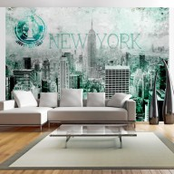 Fototapet - Emerald New York