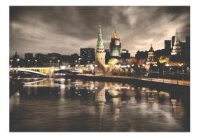 Fototapet - Cloudy night - B150xH105cm