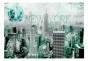 Fototapet - Emerald New York - B400xH280cm