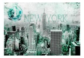 Fototapet - Emerald New York - B150xH105cm