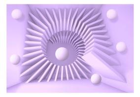 Fototapet - Lavender maze - 150x105cm