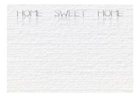 Fototapet - Home, sweet home - wall - 150x105cm