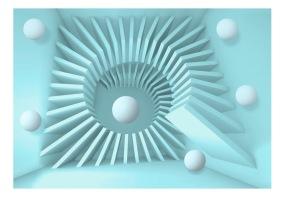 Fototapet - Blue maze - B150xH105cm