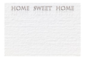 Fototapet - Home, sweet home ... - B150xH105cm