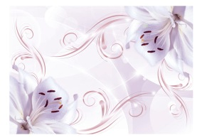 Fototapet - Pink dancers - 150x105cm
