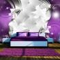 Fototapet - Purple vision