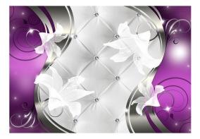 Fototapet - Purple vision - B150xH105cm