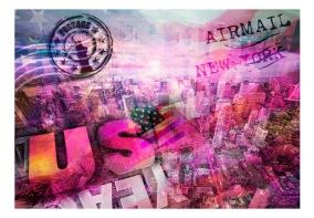 Fototapet - USA - patriotic theme - 150x105cm