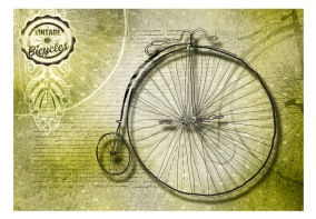 Fototapet - Vintage bicycles - 150x105cm