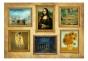 Fototapet - Beige wall of treasures - B400xH280cm