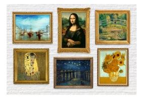 Fototapet - Wall of treasures - B150xH105cm