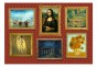 Fototapet - Red wall of treasures - 400x280cm