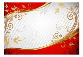 Fototapet - Golden twigs - 150x105cm