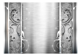 Fototapet - Steel leaves - B150xH105cm
