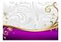 Fototapet - Purple delicacy - B400xH280cm