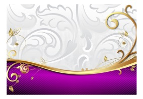 Fototapet - Purple delicacy - B150xH105cm