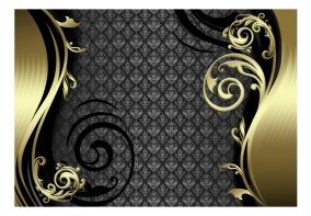 Fototapet - Golden curtain - B150xH105cm