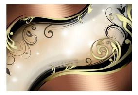 Fototapet - Golden glow - 150x105cm