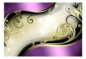Fototapet - Purple thoughts - B150xH105cm