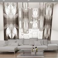 Fototapet - Beige stained glass