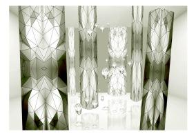 Fototapet - Glass spiders - B150xH105cm