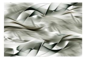 Fototapet - Gray braids - B150xH105cm