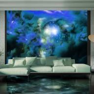 Fototapet - Blue planets