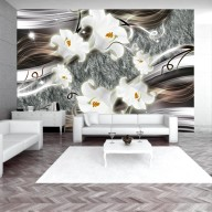 Fototapet - Dance: charmed  lilies