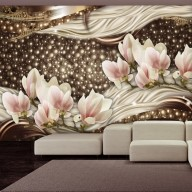 Fototapet - Pearls and Magnolias