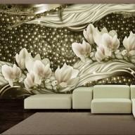 Fototapet - Pearl Flowers