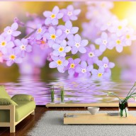 Fototapet -  Violet Petals In Bloom