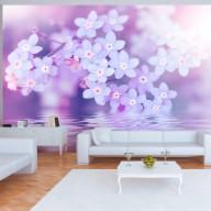 Fototapet - Flowers in Violet
