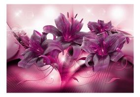 Fototapet - The Purple Flame - B150xH105cm
