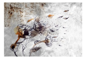 Fototapet - Recall sunflowers - B150xH105cm