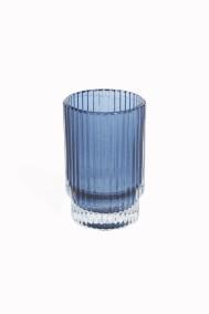 Blå Ljuslykta - Liten H10xD5cm