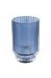Blå Ljuslykta - Stor H13x7,5cm