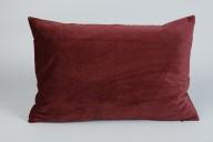 Vinröd Kuddfodral 40x60cm
