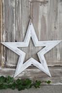 Stjärna i trä