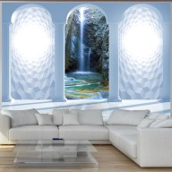 Fototapet - Heavenly waterfall