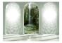 Fototapet - Emerald waterfall - B400xH280cm