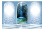 Fototapet - Heavenly waterfall - B400xH280cm