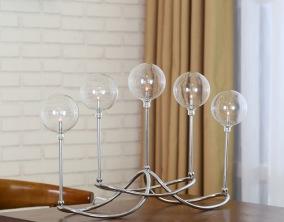 Bordslampa Globe - Silver