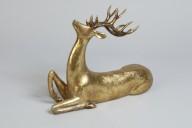 Guldfärgad Ren L26cm