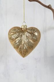 Guldfärgad Julkula