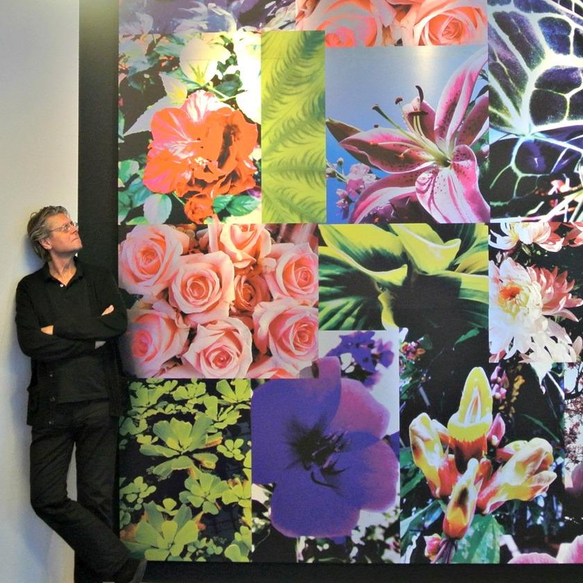 FlowerPower vägg EAB Smålandstena