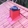 Ventilationshuv med fläkt