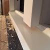 Karmbottenbleck på inåtgående fönster