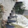 Väggmonterad trappa