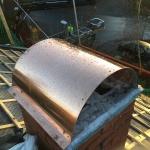 Ny huv i samband med takrenovering